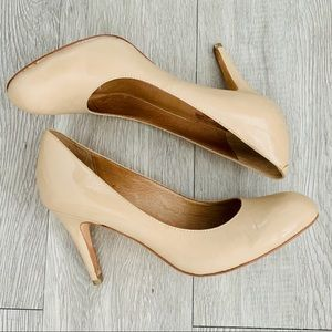 Corso Como Del Nude Leather Pumps size 9 1/2